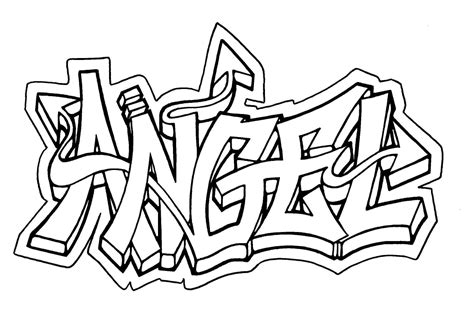 printable coloring pages awesome name cool graffiti coloring pages coloring home