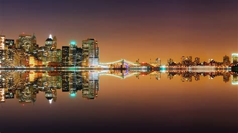 New York Skyline Chainimage New York City Lights