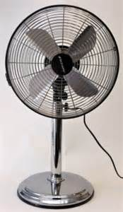 Chrome Desk Fan Five Of The Best Electric Fans Daily Mail Online