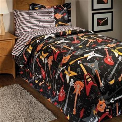 rock on guitar bed in a bag set kids amp teens images view
