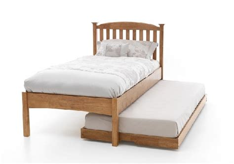 Low Single Bed Frames Serene Eleanor 3ft Single Oak Wooden Guest Bed Frame With Low Footend By Serene Furnishings