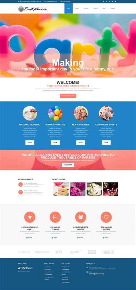 joomla event management template joomla event management template 28 images 22 event
