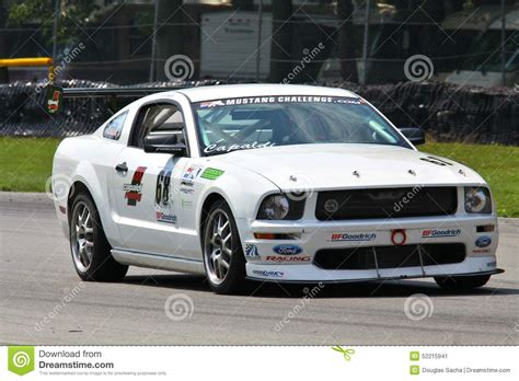 mustang challenge mustang challenge race editorial photo image 52215941