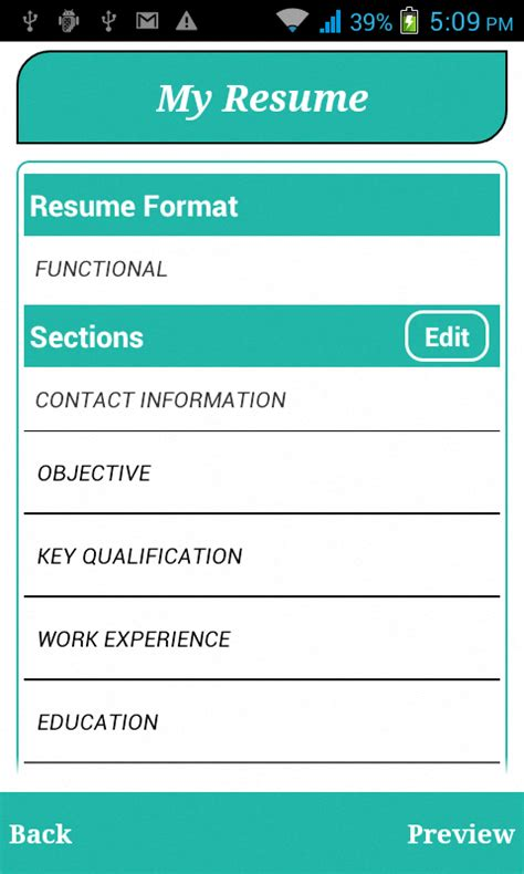 Smart Resume Builder by Smart Resume Builder Cv Free Android Apps On Play