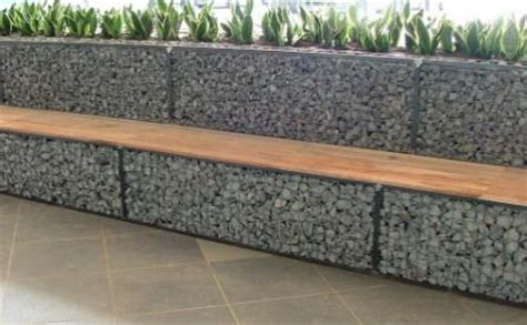 Cheap Easy Backyard Ideas Gabion Fences And Stone Walls Rock Fence Design Nz