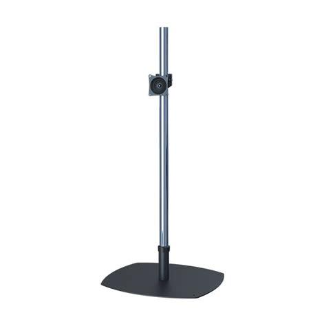 72 Inch Floor L by Premier Mounts Psp 72 Single 72 Inch Chrome Pole Floor