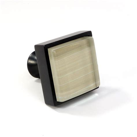 black square cabinet knobs glass black metal square knob modern cabinet