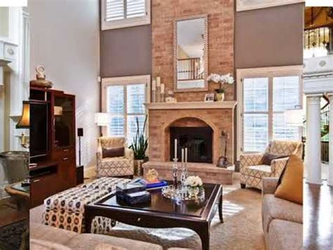 story great room  fireplace ideas youtube