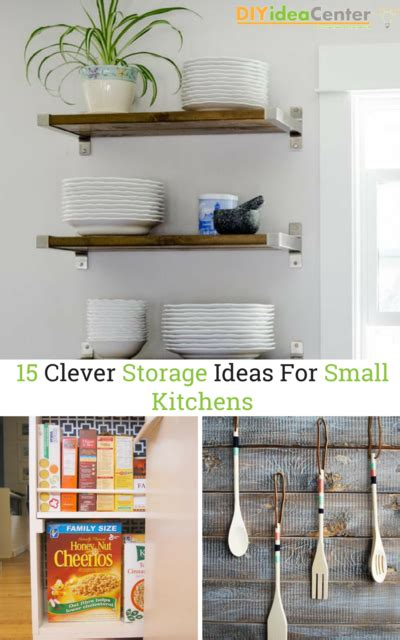 15 clever storage ideas for small kitchens diyideacenter