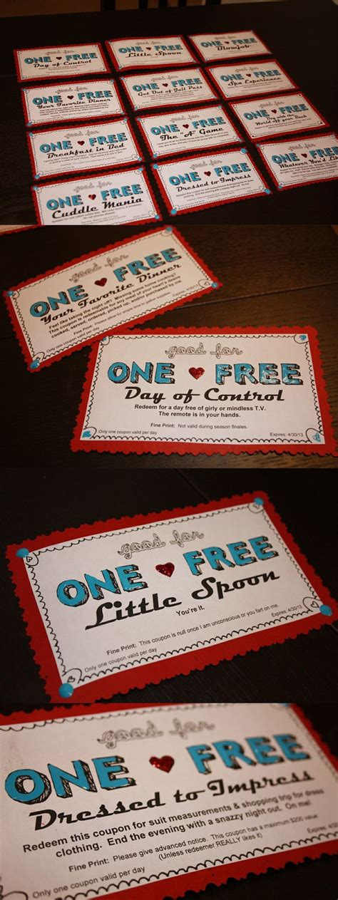 Handmade Coupon Ideas - 25 best ideas about boyfriend coupons on