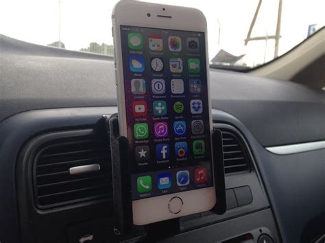 porta iphone auto supporto brodit per iphone 6 la recensione di