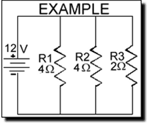 total power of resistors in parallel electrical electronic series circuits