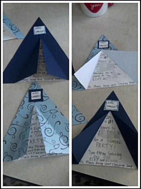 tent invitations camping themed birthday party  love