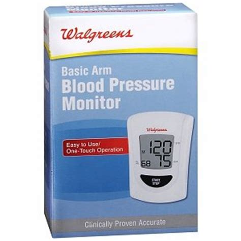 Walgreens Sell Amazon Gift Cards - amazon com walgreens basic arm blood pressure monitor health personal care