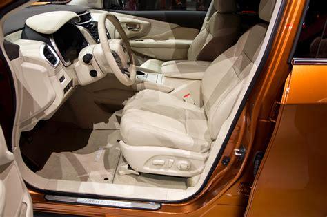 nissan murano interior 2016 2015 nissan murano first look motor trend