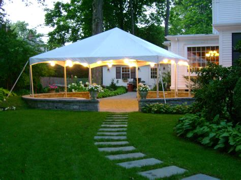 tent backyard tent places for event party tents canopy tents by michael