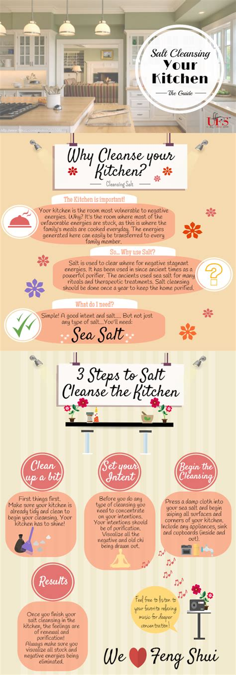 How To Detox From Salt by Unique Feng Shui How To Salt Cleanse The Kitchen In