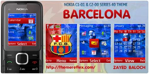 mobile9 themes nokia c2 00 barcelona theme for nokia c1 01 c2 00 themereflex