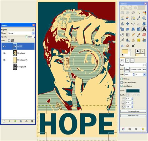 illustrator tutorial obama poster how to make an obama hope poster in gimp scott