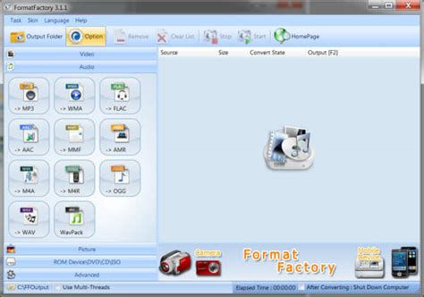 convert video to wmv by format factory top 5 best free wmv video splitters