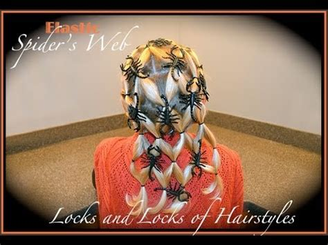spiderweb hairstyle for in hairland image gallery spider hairstyles