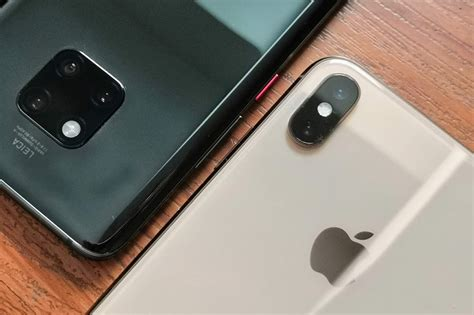 iphone xs max vs mate 20 pro big features big price tags abs cbn news