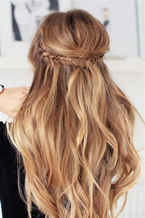 hairstyles for long hair date minute easy hairstyles for long hair for every kind of