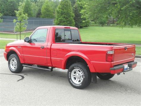 buy used 2003 ford ranger edge automatic 97k miles one owner pickup 2 door 3 0l v 6 in