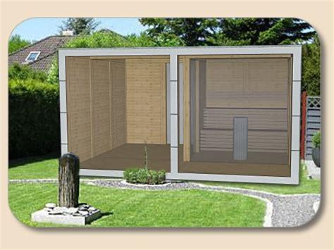 saunahaus modern saunahaus modern mit trespa hpl und glasfront holzon de