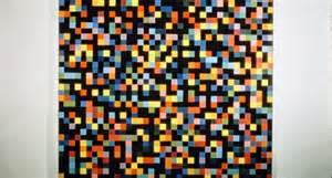 ellsworth spectrum colors arranged by chance haus der kunst detail