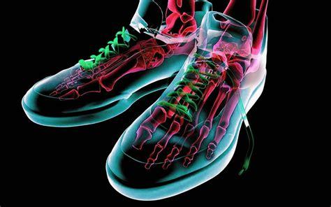 wallpaper cool shoes neon 3d wallpapers wallpapersafari