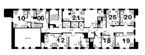 6 Bedroom Floor Plans university of pittsburgh housing services