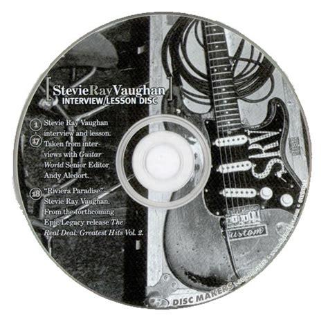 stevie ray vaughan interviewlesson disc  promo cd album cdlp