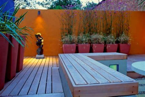 plantas patio interior oscuro colores para las paredes del patio o la terraza guia de