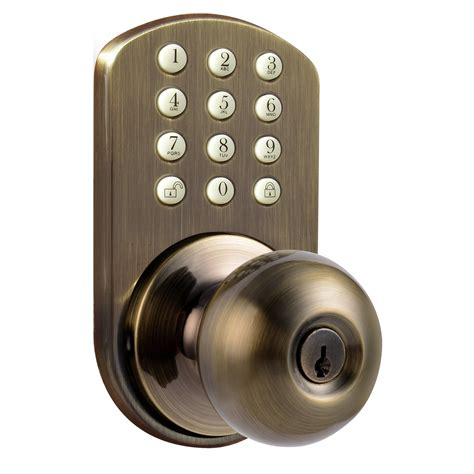 keyless electronic door knob wayfair