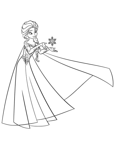 little elsa coloring page little elsa coloring page free images