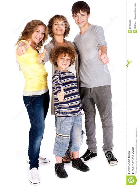 Family It Up by Thumbs Up Family Stock Photography Image 20039392