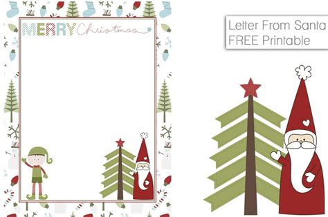 on the shelf letter from santa template free printable notes from santa fancy shanty 174