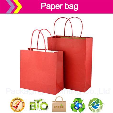 How To Make A Paper Shopping Bag - aliexpress buy paper bags cheap customized logo