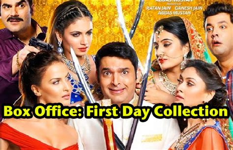 film comedy terbaik 2015 box office box office kapil sharma s kis kisko pyaar karoon first