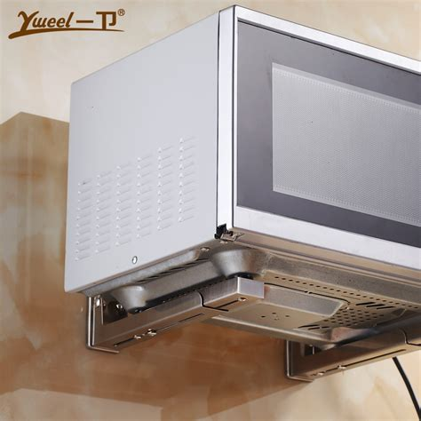 Wall Shelf For Microwave Oven by Wall Mounted Microwave Oven Shelf Mount 304 Stainless