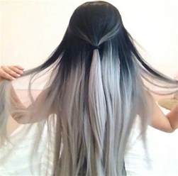 silver color hair ombre looks for 2016 hairstyles 2017 new