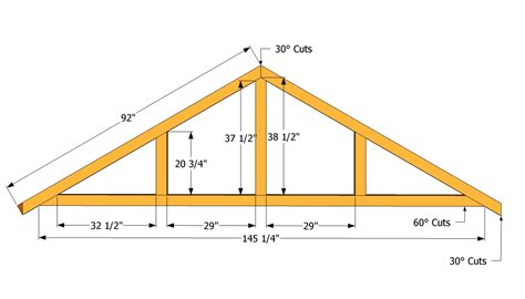 Shed Roof Trusses wooden garden sheds derbyshire how to design shed roof