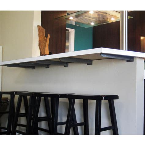 bar top support adding extra support doesn t have to be an eyesore
