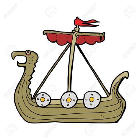 viking ship clipart viking longboat pencil and in color - Viking Boats Cartoon