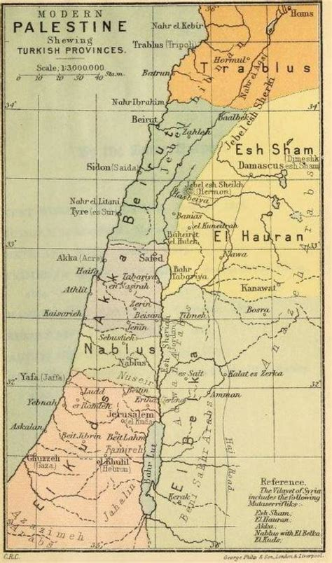 Ottoman Palestine Where Is Palestine Located In Israel And Why Is The Territory Fought Quora