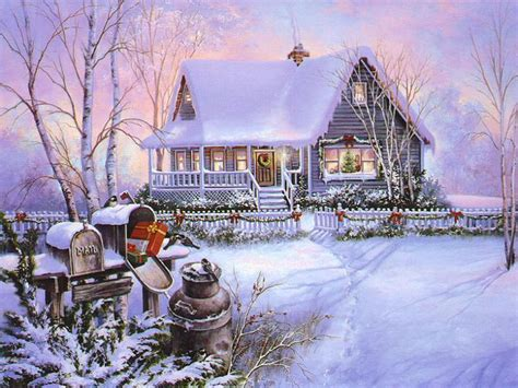printable xmas scenes christmas art 03 christmas winter scenes