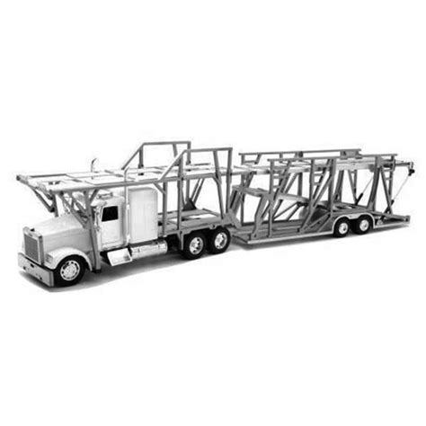 car carrier coloring page an empty auto transport semi truck coloring page netart
