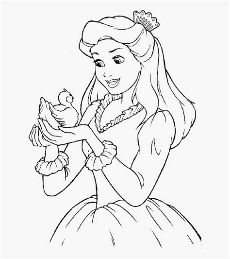 barbie clipart coloring disney princess drawing pages