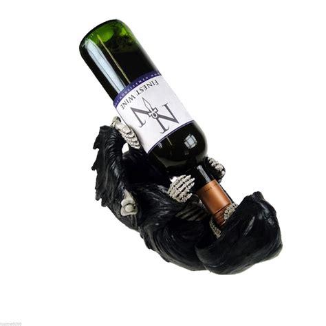 pug wine bottle holder nemesis now guzzler wine bottle holder gift decoration ebay